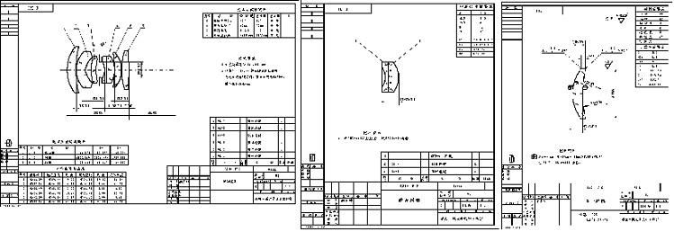 OCAD光学设计软件包是一个在Windows环境下,采用全中文菜单,操作实用性很强的国产光学CAD软件包。利用软件包各级界面的下拉式菜单或工具条操作快捷方便。当前国内外优秀的光学设计软件很多,但大多数都集中在光学系统的优化和像质评价方面,但如何确定光学系统的初始结构,早优化过程中如何随时贯彻我国有关光学设计标准,特别是贯彻光学零件的表面半径标准、边沿厚度标准以及中心厚度标准等都需要在优化过程中及时体现,否则在优化之后再考虑这些势必会影响优化结果。此外,在系统优化合格之后如何贯彻我国相应光学标准绘制光学图纸
