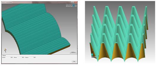 衍射和混合平面的微结构及衍射光学元件进行建模和